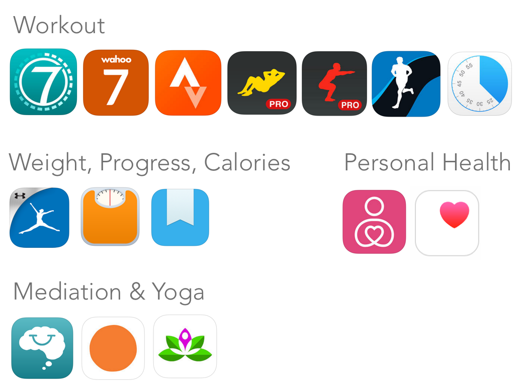 best fitness apps for iphone top 15 health amp fitness iphone apps for 2015 daniel 6404